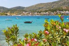 Porto Rafti harbor view, Greece Royalty Free Stock Photo
