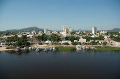 Porto Regional de Corumbá stock image