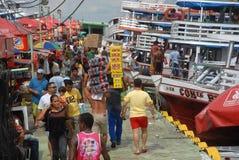 Porto Regional de Manaus royalty free stock image