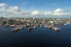 Porto regionalność de Manaus Obraz Royalty Free