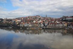 Porto Ribeira, Portugal Stockbild
