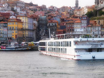 Porto river classic view Royalty Free Stock Images