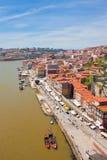 Porto and river Douro Royalty Free Stock Image