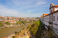 Porto and river Douro Royalty Free Stock Photos