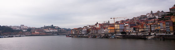 Porto and the river Douro Royalty Free Stock Photography