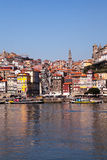 Porto and the river Douro Royalty Free Stock Photo