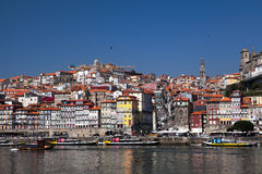 Porto and the river Douro Stock Photos