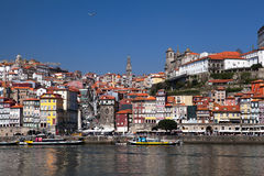 Porto and the river Douro Stock Photography