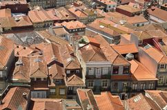 Porto roofscape Royalty-vrije Stock Foto's