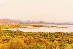 Porto Rotondo in Golfo Aranci on Costa Smeralda Sardinia Italy. Porto Rotondo in Golfo Aranci on Costa Smeralda in Sardinia in Italy stock image