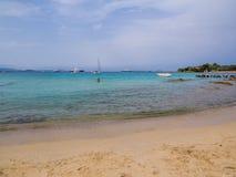 Porto Rotondo, Italy. Nice beach in Porto Rotondo, Sardinia, Italy stock photography