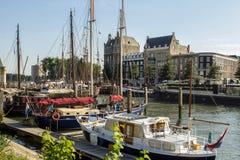 Porto Rotterdam fotos de stock royalty free