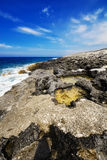 Porto Roxa beach on Zakynthos island Royalty Free Stock Image