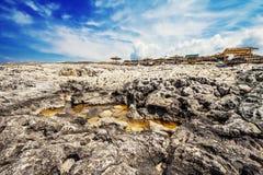 Porto Roxa beach on Zakynthos island Stock Images