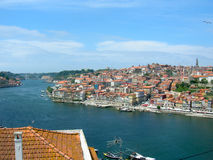 Porto's river Douro in Portugal Stock Photography