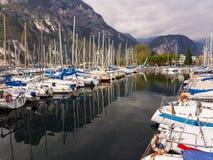 Porto San Nicolo Lake Garda Italien royaltyfria bilder
