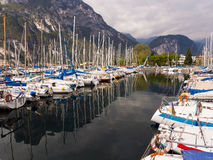 Porto San Nicolo Lake Garda Italy Royalty Free Stock Images
