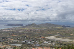 Porto Santo Airport Image stock