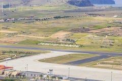 Porto Santo Airport Stock Photos