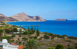 Porto Santo Bay Stock Photos