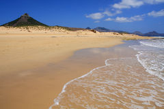 Porto Santo beach Royalty Free Stock Images