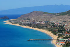 Porto Santo Beach Royalty Free Stock Image