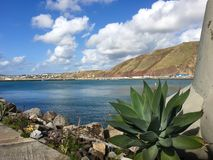 Porto Santo eilandlandschap royalty-vrije stock afbeeldingen