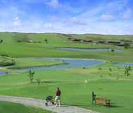 Porto Santo Golf Stock Image