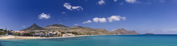 Porto Santo harbor Stock Photography
