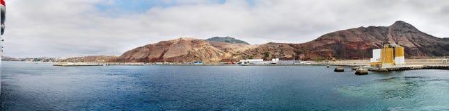 Porto Santo Harbour Royalty-vrije Stock Afbeelding