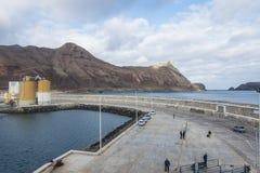 Porto Santo Harbour Royalty Free Stock Photo