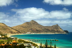 Porto Santo island Stock Photos