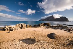Porto Santo Island Stock Photo