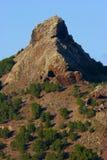 Porto santo mountain. View of porto santo mountain Stock Photos