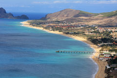 Porto Santo overview Royalty Free Stock Photos