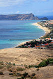 Porto Santo overview Stock Photography