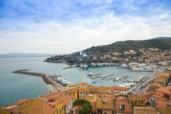 Porto Santo Stefano Photos stock