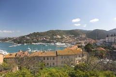 Porto Santo Stefano stockfoto