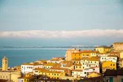 Porto Santo Stefano Italië Stock Afbeeldingen