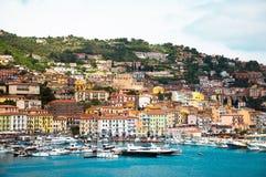 Porto Santo Stefano Italië Royalty-vrije Stock Afbeeldingen
