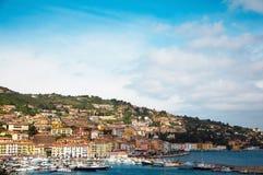 Porto Santo Stefano Italië Stock Afbeelding