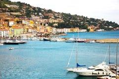 Porto Santo Stefano. Italy Royalty Free Stock Photography