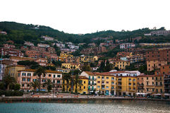 Porto Santo Stefano l'Italie Photos libres de droits
