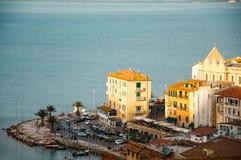 Porto Santo Stefano l'Italie Image stock