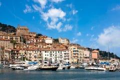 Porto Santo Stefano, Toscanië, Italië royalty-vrije stock foto's