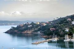 porto santo Stefano obraz royalty free