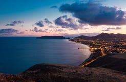 Porto Santo zmierzch II Obraz Royalty Free