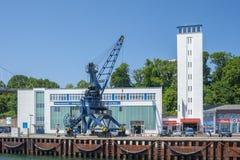 Porto in Sassnitz immagine stock