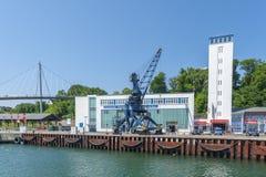 Porto in Sassnitz immagine stock libera da diritti