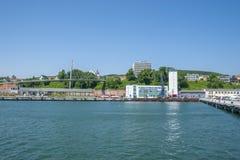 Porto in Sassnitz fotografia stock libera da diritti